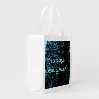 happy new year blue market totes
