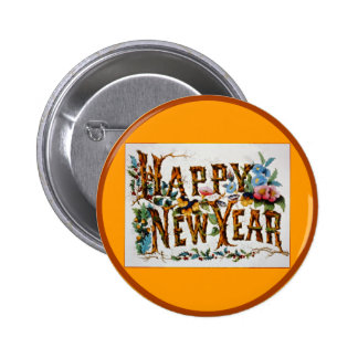 Happy New Year - Button 2