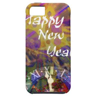 Happy New Year celebration iPhone 5 Cases