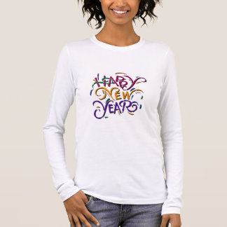 Happy New Year Color 2 Long Sleeve T-Shirt
