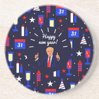 happy new year donald trump coaster