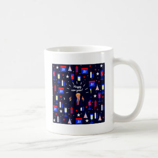 happy new year donald trump coffee mug