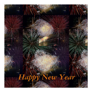 Happy new Year for every Year all around the World Poster