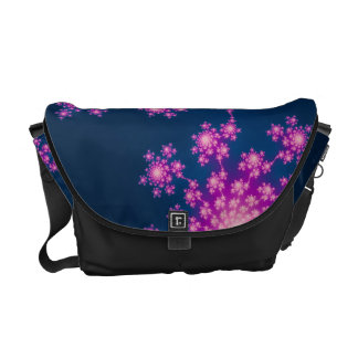 Happy New Year Fractal Commuter Bag