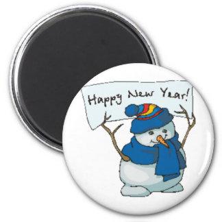 Happy New Year Fridge Magnets