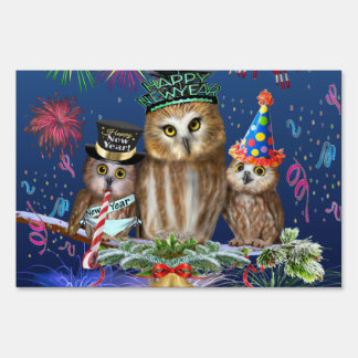 HAPPY NEW YEAR FROM OWL OF US! SIGN