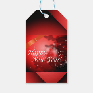 Happy New Year Gift Tags