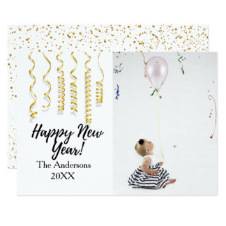 Happy New Year | Holiday Photo Card