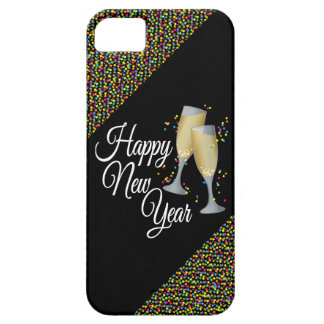 Happy New Year I Champagne Glasses Case For The iPhone 5