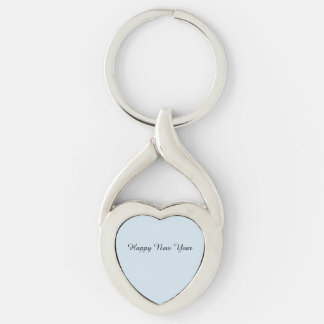 Happy New Year Keychain