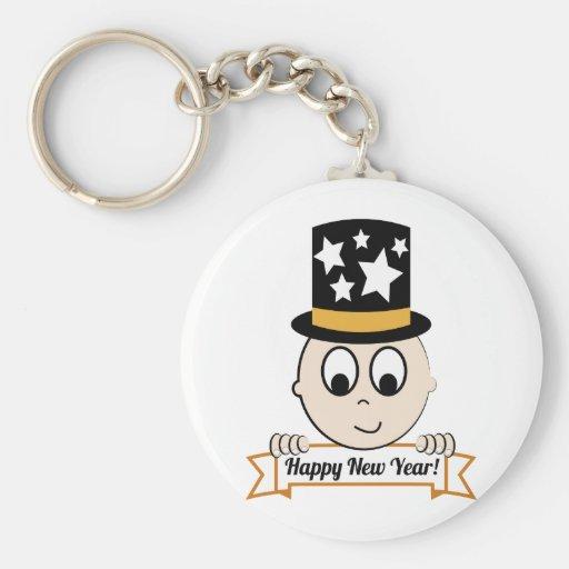 Happy New Year! Key Chain