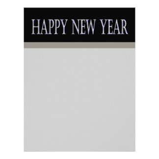happy new year letterhead