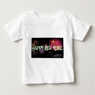Happy new year letters baby T-Shirt