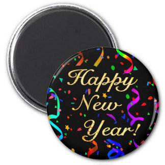 """""""Happy New Year!"""" magnet"""