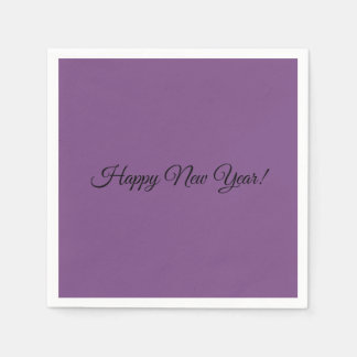 Happy New Year! Napkins Disposable Napkins