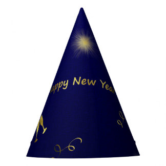 happy new year paper hat