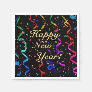 """Happy New Year!"" Paper Napkins"