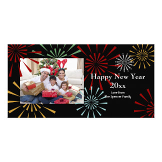 Happy New Year Photocards Picture Card