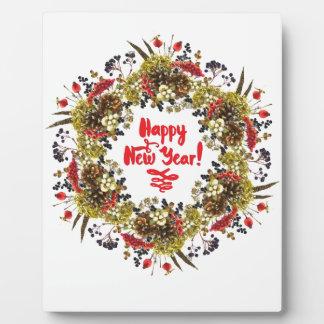 Happy New Year Plaque