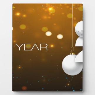Happy-New-Year Plaque
