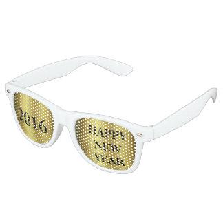 Happy New Year Retro Sunglasses
