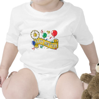Happy New Year T-Shirt Baby Bodysuit