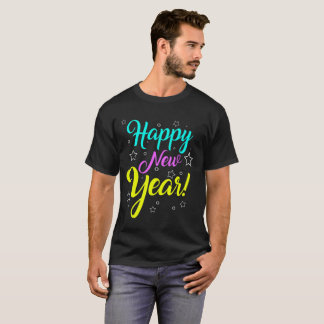 Happy New Year T-Shirt For Men and Women