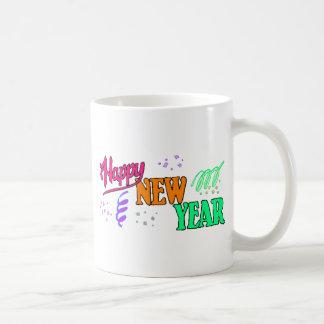 Happy New Year T-Shirts New Year's Coffee Mug