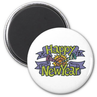 Happy New Year T-Shirts New Year's Fridge Magnets