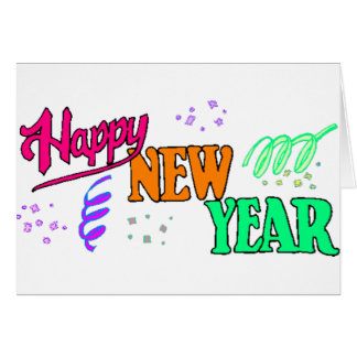 Happy New Year T-Shirts New Year's Greeting Card