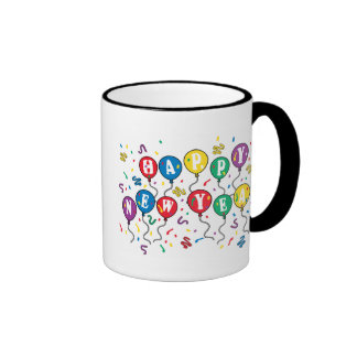 Happy New Year T-Shirts New Year's Mugs