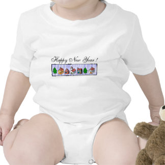Happy New Year T-Shirts New Year's T-Shirt Bodysuits