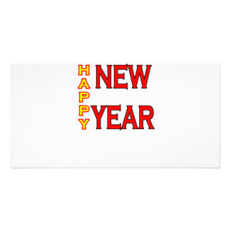Happy New Year The MUSEUM Photo Card Template