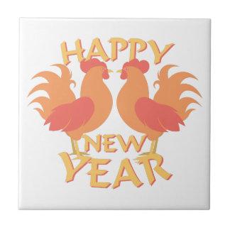 Happy New Year Tiles