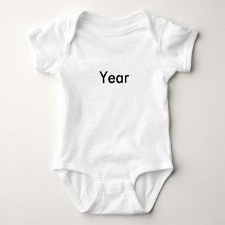 Happy 'New' Year Triplet Baby 1 of 3 set Baby Bodysuit