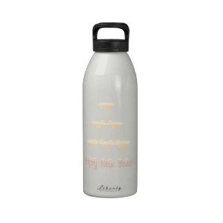 Happy New Year! Reusable Water Bottles