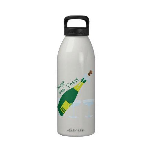 Happy New Year! Water Bottles