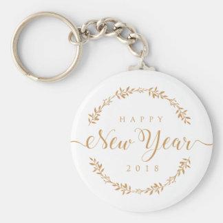 happy new years keychain