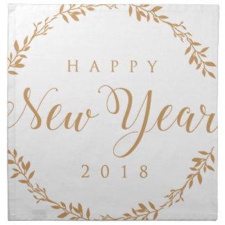 happy new years napkin