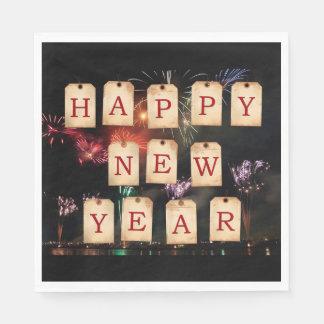 Happy New Year's Napkin