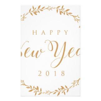 happy new years stationery