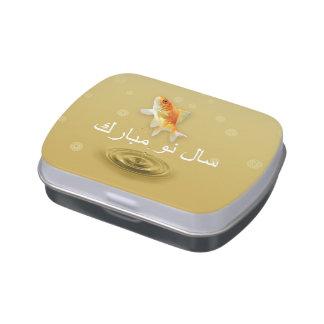 Happy Norooz Fish - Persian New Year Candy Tin