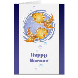 Happy Norooz Persian New Year Card