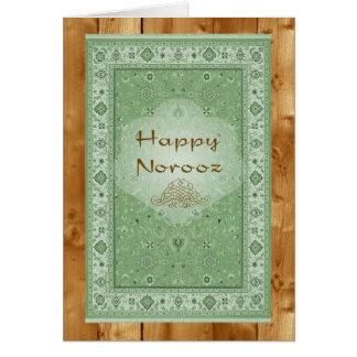 Happy Norooz, Persian Rug Card