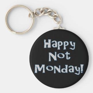 Happy Not Monday! Keychain