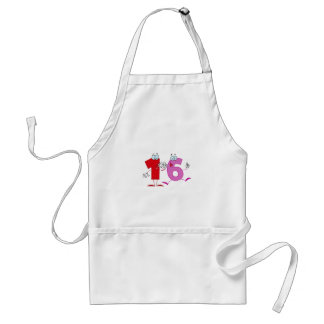 Happy Number 16 Standard Apron