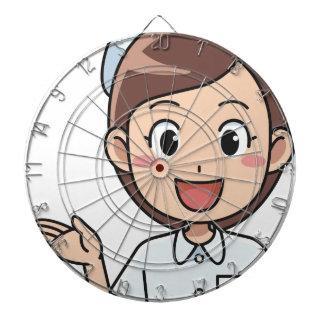 Happy Nurse Dartboard