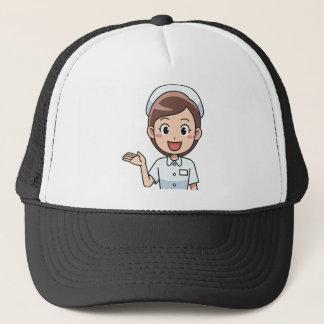 Happy Nurse Trucker Hat