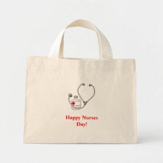 Happy Nurses Day!-bag Mini Tote Bag