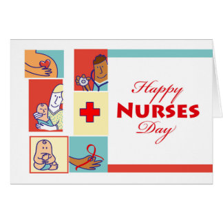 Happy Nurses Day, Nurses and Their Patients Card